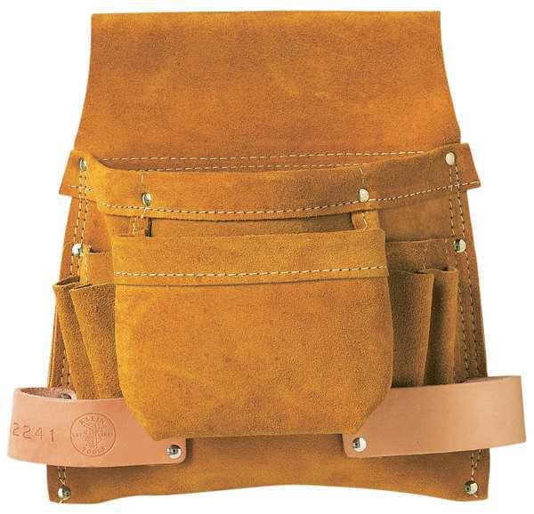 Klein Tools 42241 Tools Bag - 6 Pockets Nail/Screw & Tool-Pch