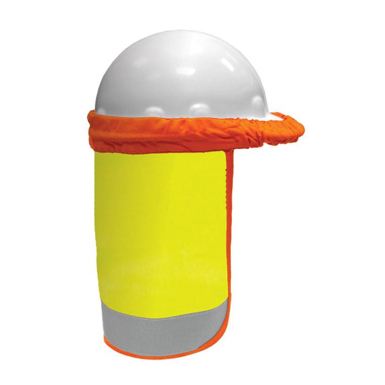 fe4133022 ML Kishigo F2800 FR Lime Hard Hat Sun Shield
