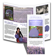 AromaDome® Brochure - Pack of 25, 50 or 100