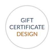 Custom Gift Certificate Design