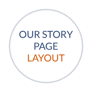 Our Story Page Layout