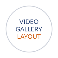 Video Gallery Page (2 per Row)