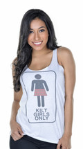"""Kilt Girls Only"" Flow Tank"