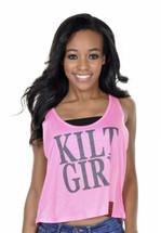 Kilt Girl Stacked Crop Tank
