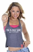 I'M A KILT GIRL (AND YOU'RE NOT) Crop Tank