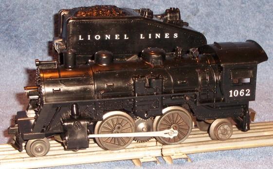 Wiring Diagram Lionel Cattle Car : Motive power steam scout 1062 scout locomotive lionel trains
