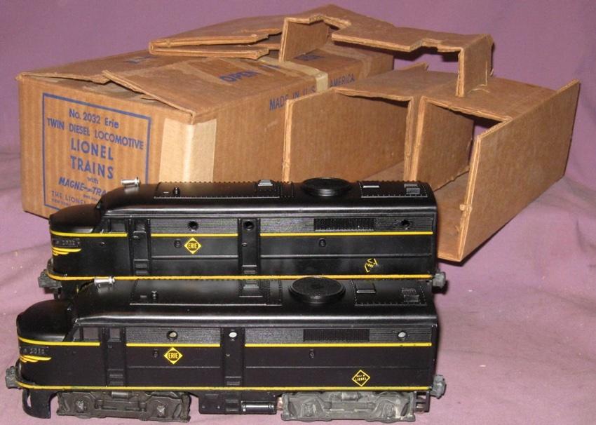 Wiring Diagram Lionel Cattle Car : Motive power diesels alco 2032 erie lionel trains library