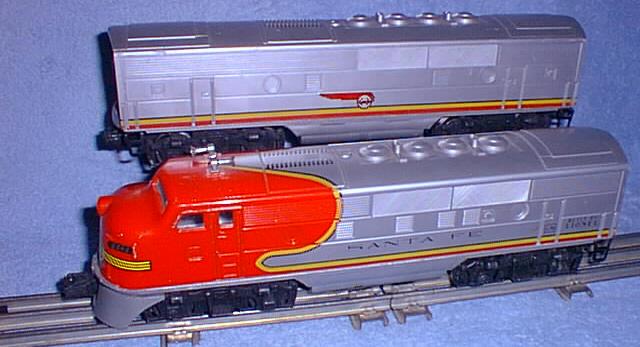 Wiring Diagram Lionel Cattle Car : Motive power diesels f3 2243 santa fe lionel trains library