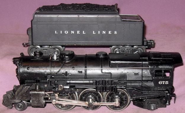 motive power steam pacific 675 k 4 pacific lionel trains library rh postwarlionel com