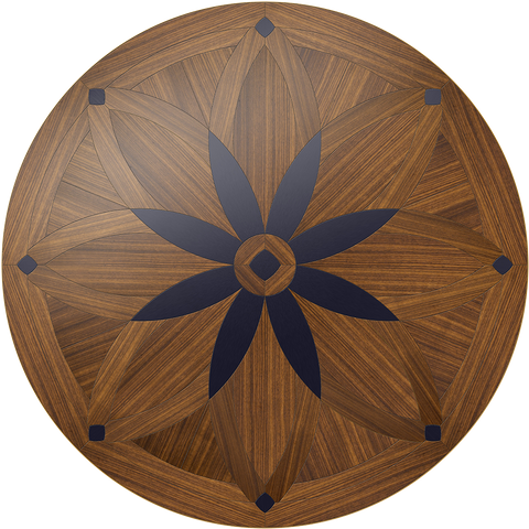 Night Blossom Round Table: Custom Round Table: Smith-Made.com