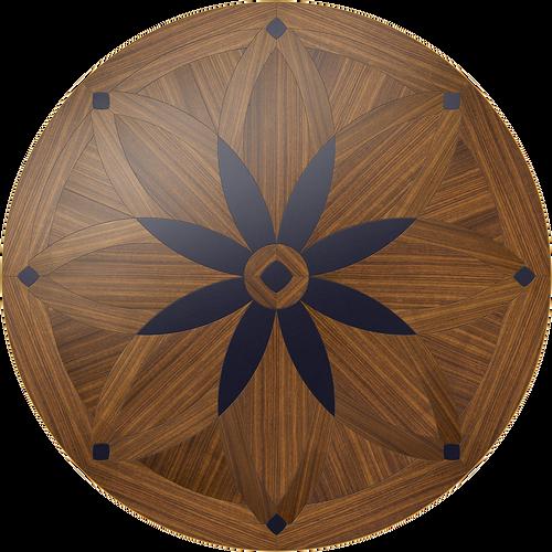 Night Blossom Round Table: Custom Round Table: Smith-Made.com
