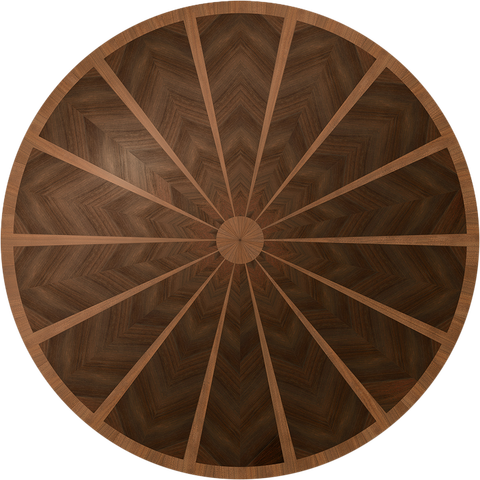 Lafayette Flooring Medallion: Wood Flooring Medallion: Smith-Made.com