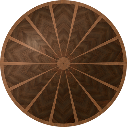 Lafayette Flooring Medallion: Wood Flooring Medallion: Smith-Made.com