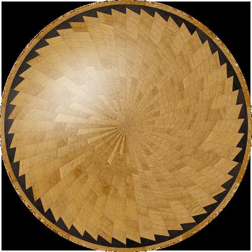 Charlevoix Flooring Medallion: Wood Flooring Medallion: Smith-Made.com