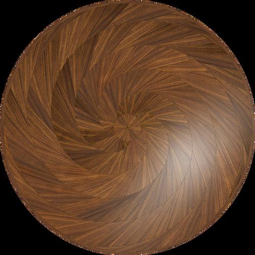 Purl Flooring Medallion: Wood Flooring Medallion: Smith-Made.com