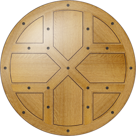 Renaissance Flooring Medallion: Wood Flooring Medallion: Smith-Made.com