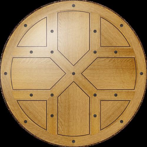 Renaissance Flooring Medallion: Wood Flooring Medallion: Smith-Made.com