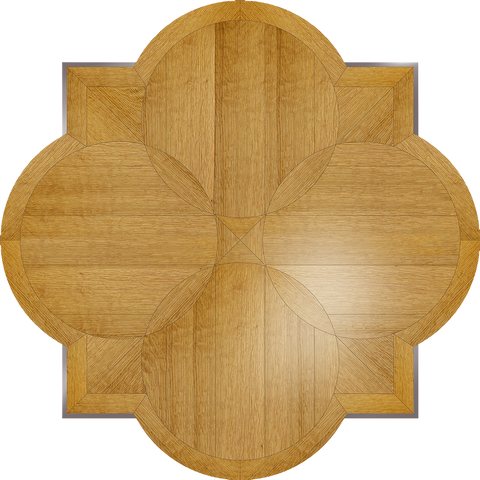 Hudson Flooring Medallion: Wood Flooring Medallion: Smith-Made.com