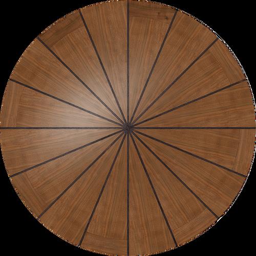 Kiln Dried American Black Walnut and African Wenge custom table.