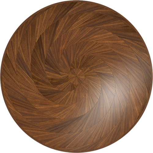 Kiln Dried American Black Walnut custom round table.