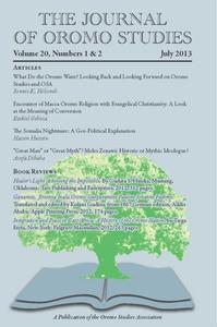 journal of oromo study volume 7 number 1