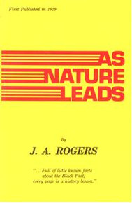 AS NATURE LEADS, by J.A. Rogers