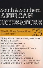AFRICAN LITERATURE TODAY, Vol. 23, South & Southern African Literature, Edited by Eldred Durosimi Jones & Marjorie Jones