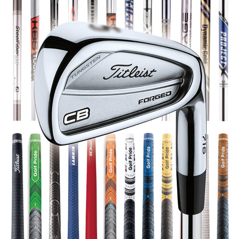 Titleist 716 CB Custom Iron Set - Golfio