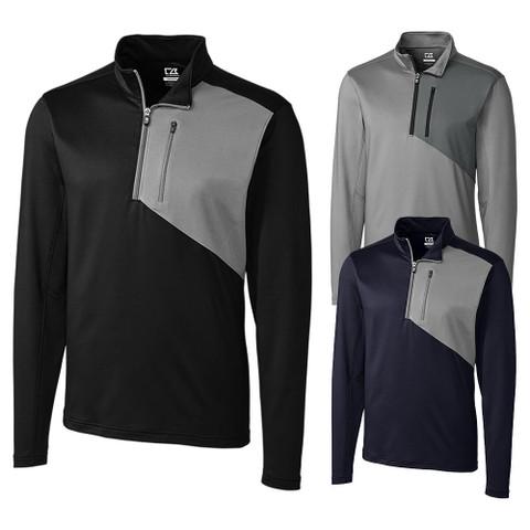 Cutter and Buck Shaw Hybrid Half Zip Golf Pullover 2019