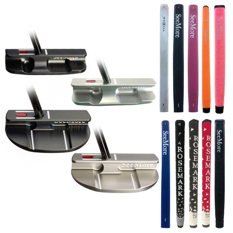 SeeMore Nashville MFGP SS Custom Putter