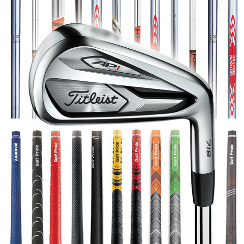 Titleist 718 AP3 Custom Irons - Golfio