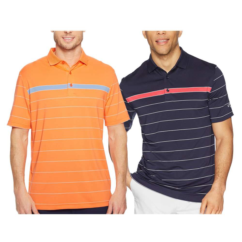 69487cff Callaway Sophisticated Stripe Golf Polo 2018 - Golfio