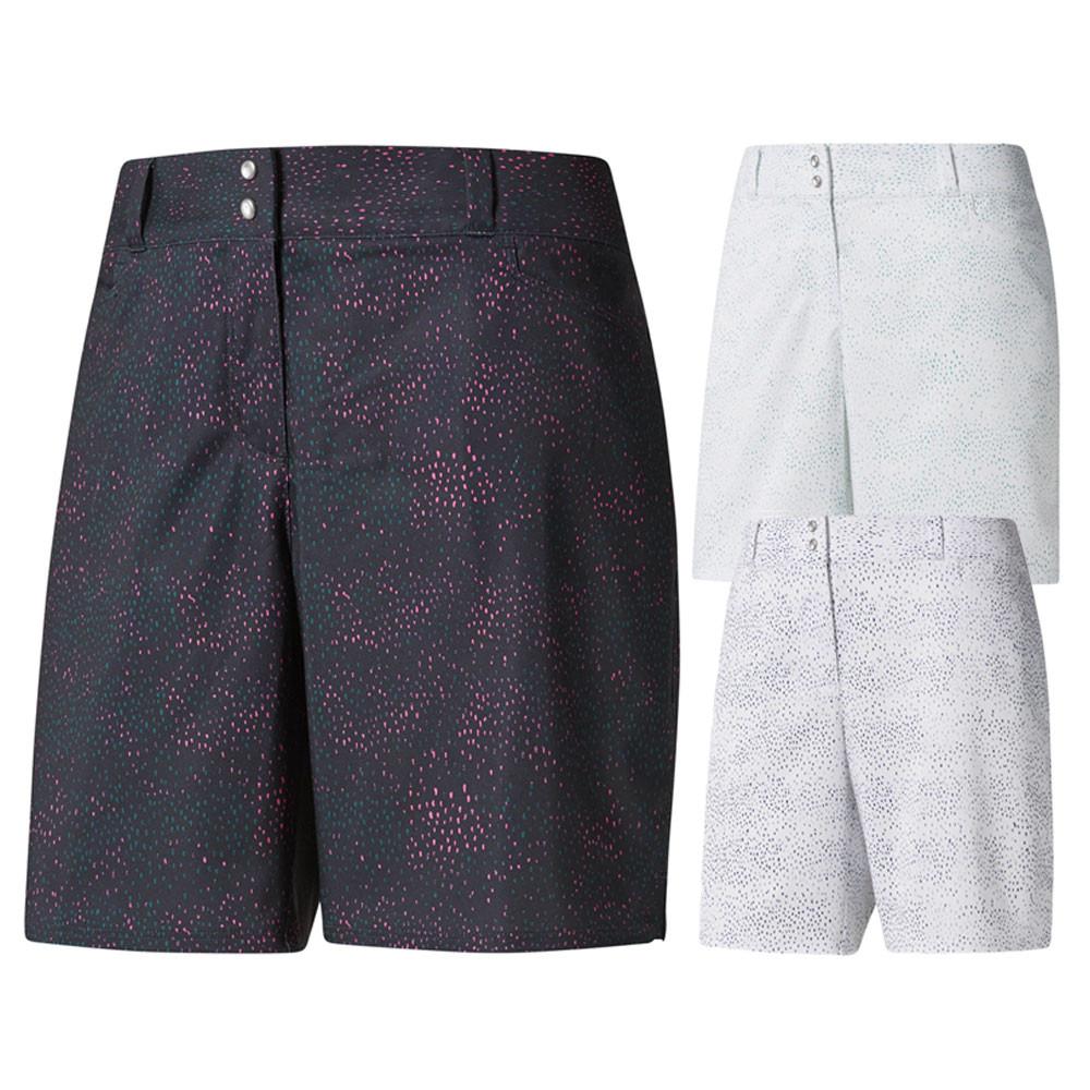 Adidas Printed 7in Golf Shorts 2018 Women - Golfio 1bc9659bb708