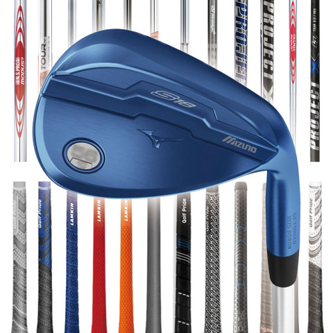 Mizuno S18 Blue Ion Custom Wedge