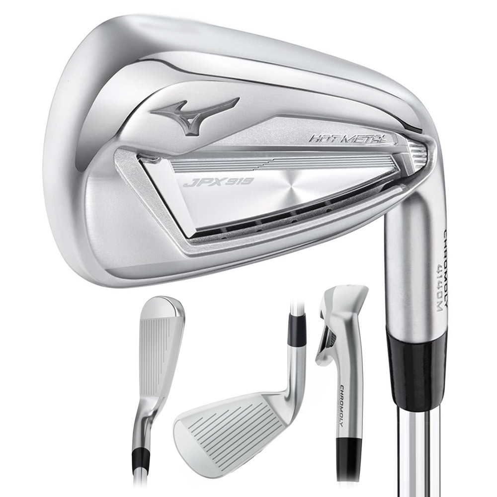 Mizuno JPX-919 Hot Metal Iron Set 2019 Women - Golfio b3eafc1ca