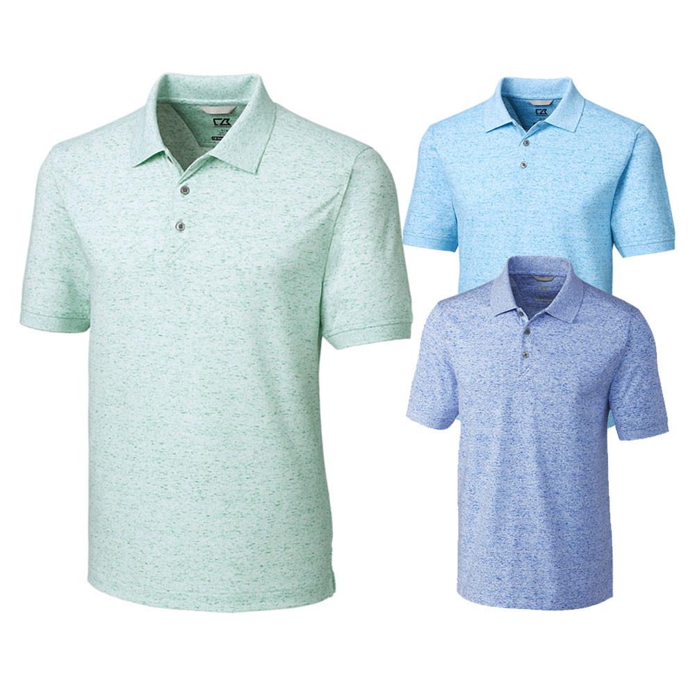 Cutter And Buck Advantage Space Dye Golf Polo 2019 Golfio