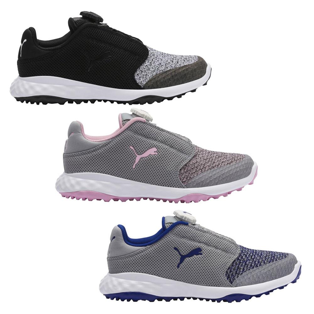 7fc43e9286 PUMA Grip Fusion Sport Disc Junior Spikeless Golf Shoes 2019 Boys ...