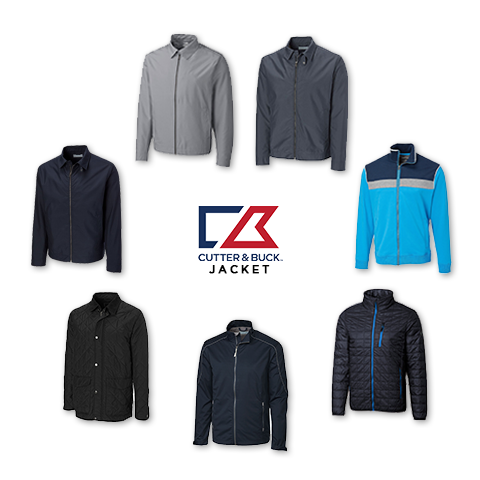 Cutter and Buck Men's Jacket (Big and Tall) Clearance Sale