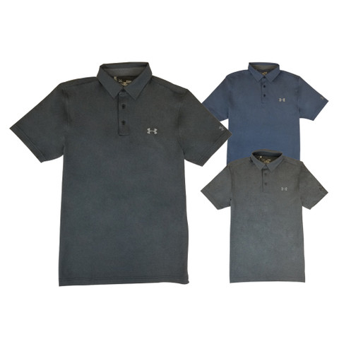 Under Armour Vented Heather Golf Polo 2018
