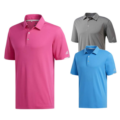 Adidas Fall ClimaChill Solid Golf Polo 2018