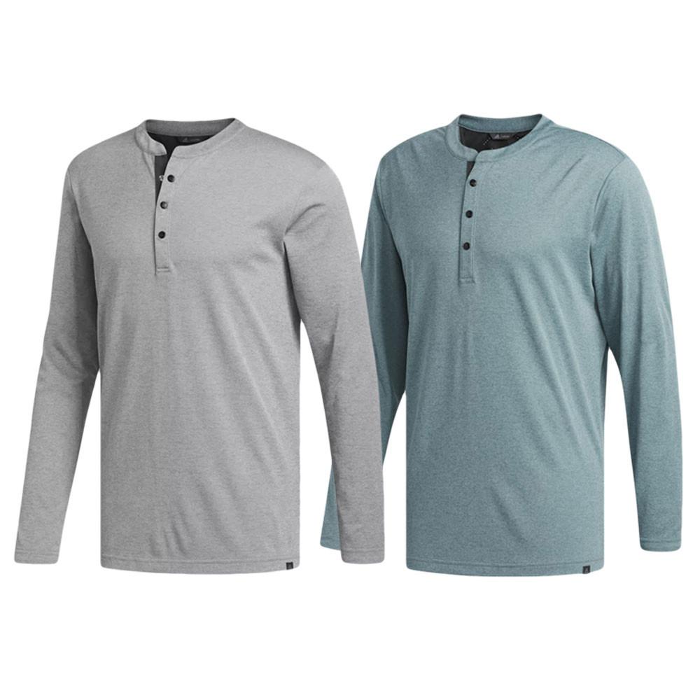 0580dd9e Adidas Fall AdiCross No Show Range Henley Golf Shirt 2018 - Golfio