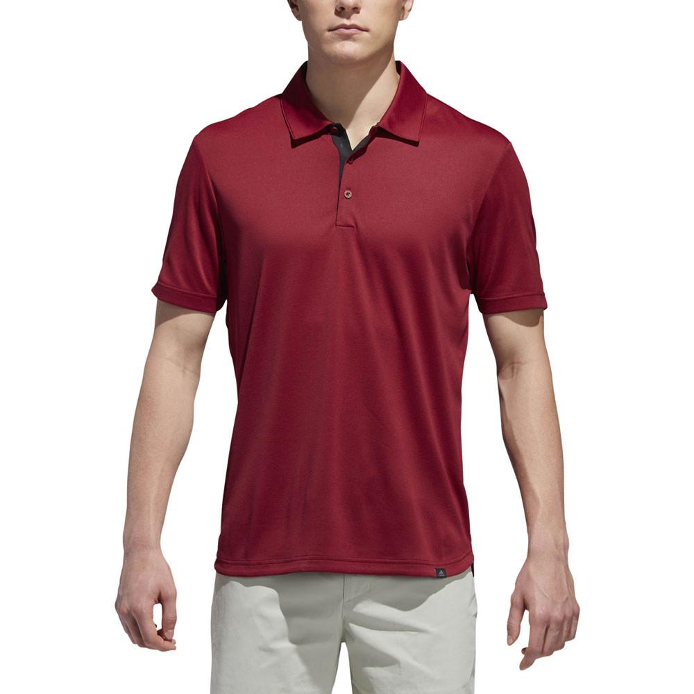 013808d4 Adidas Fall AdiCross No Show Pique Golf Polo 2018 - Golfio