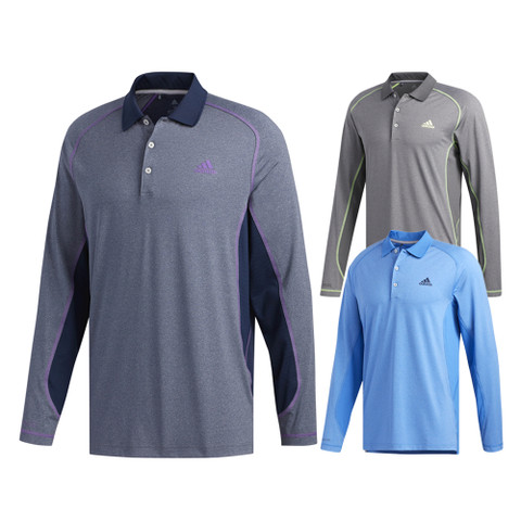 Adidas Ultimate ClimaCool Longsleeve Golf Polo 2019