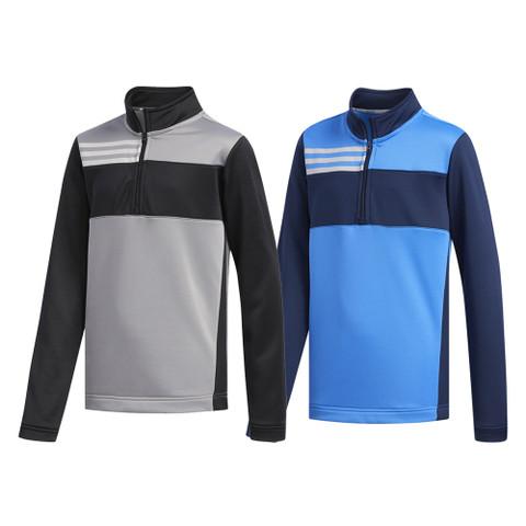 Adidas Three Stripe Layering Golf Pullover 2019 Boys
