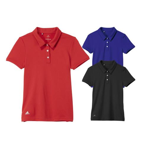 Adidas Performance Short Sleeve Golf Polo 2019 Girls