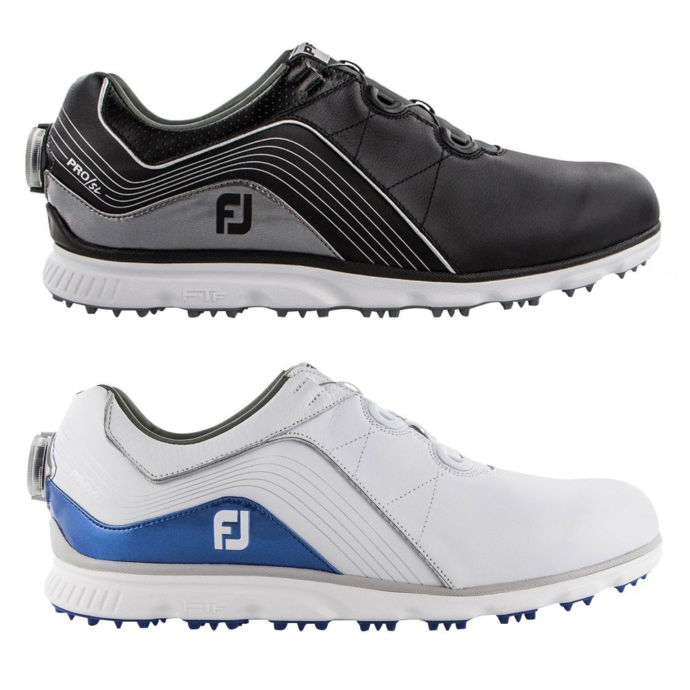 db39d822171 FootJoy Pro SL BOA Spikeless Golf Shoes 2019 - Golfio
