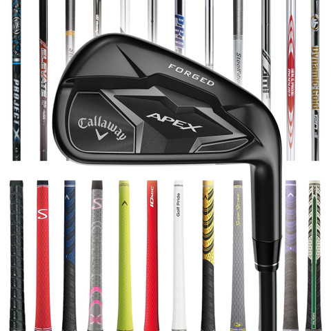 Callaway Apex 19 Smoke Custom Iron