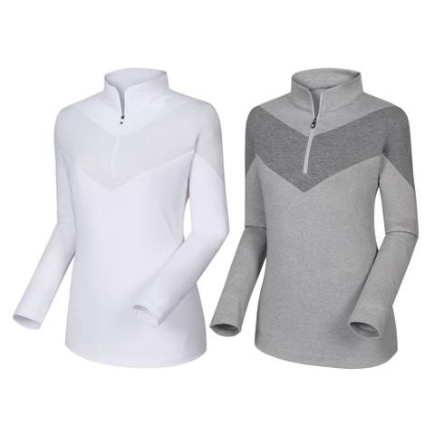 FootJoy Engineered Jersey Half Zip Golf Pullover 2019 Women