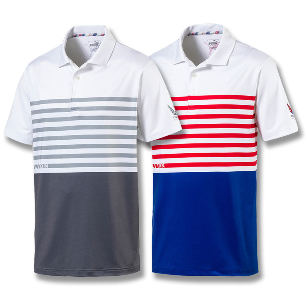 f25830dc PUMA Volition Ck6 Flag Golf Polo 2019 - Golfio puma golf apparel 2019