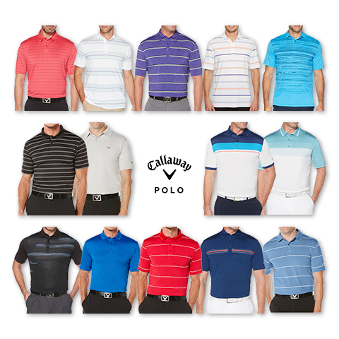 Callaway Men's Polo Clearance Sale